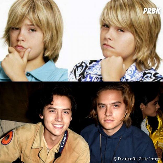 """Zack e Code (Cole e Dylan Sprouse) cresceram bastante desde """"Gêmeos em Ação""""!"""