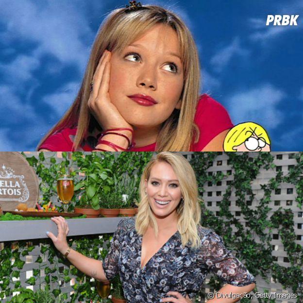 """Hilary Duff em """"Lizzie McGuire"""""""