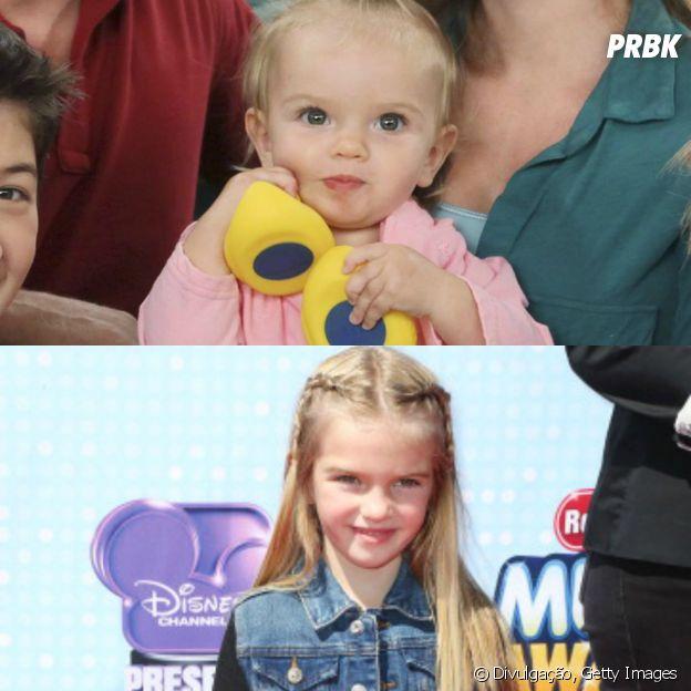 """Mia Telerico, a Charlie de """"Boa Sorte Charlie"""" ainda está crescendo!"""