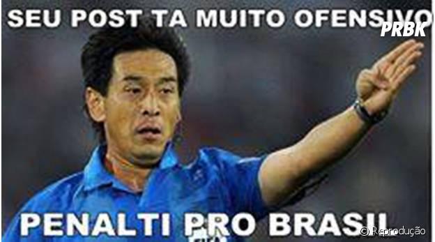 Post ofensivo? Penalty pro Brasil!