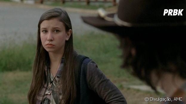 """De """"The Walking Dead"""": Katelyn Nacon (Enid) terá mais destaque na 8ª temporada"""