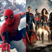 """De """"Homem-Aranha: De Volta Ao Lar"""" e """"Liga da Justiça"""": filmes ganham novas fotos promocionais"""