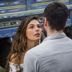 """Novela """"A Força do Querer"""": Ritinha (Isis Valverde) revela gravidez a Zeca (Marco Pigossi)!"""