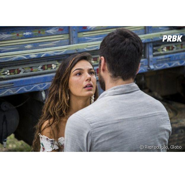 """Ritinha (Isis Valverde) vai revelar gravidez a Zeca (Marco Pigossi) em """"A Força do Querer"""""""