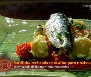 """No """"MasterChef Brasil"""": internautas disseram que prato deVitor B. foi um dos mais feios que passou pelo programa"""