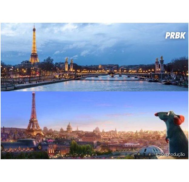 Paris já foi destaque em vários filmes, inclusive em Ratatouille!