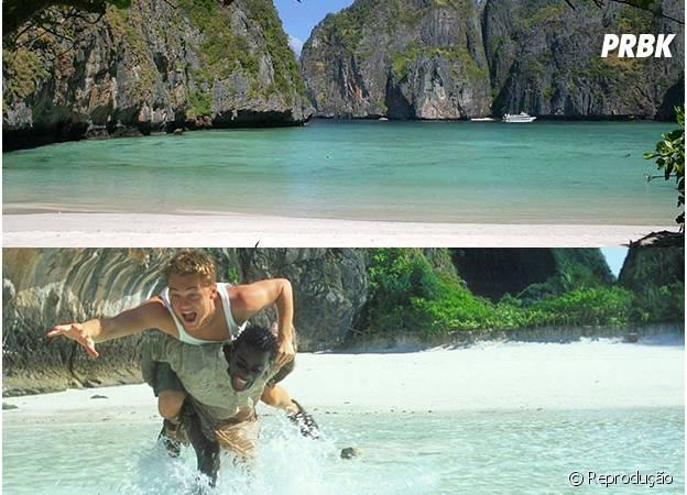 No filme A Praia, Leonardo DiCaprio conheceu a Tailândia