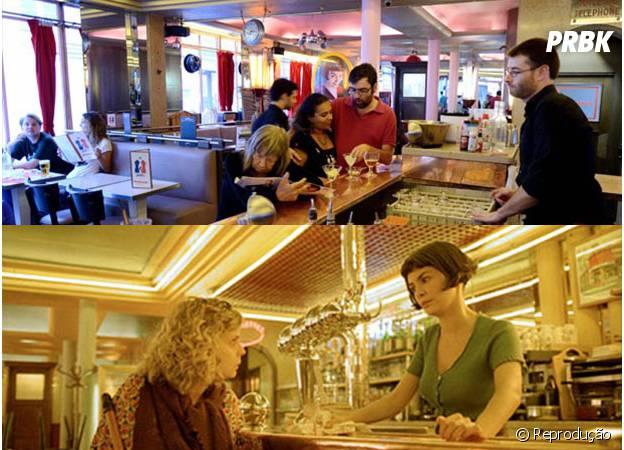 Amélie Poulain trabalhava no Café des Deux Moulins