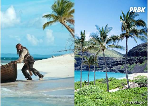 Ilhas Kauai foram cenário do filme Piratas do Caribe