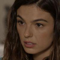 """Novela """"A Força do Querer"""": Ritinha (Isis Valverde) ameaça abandonar Ruy"""
