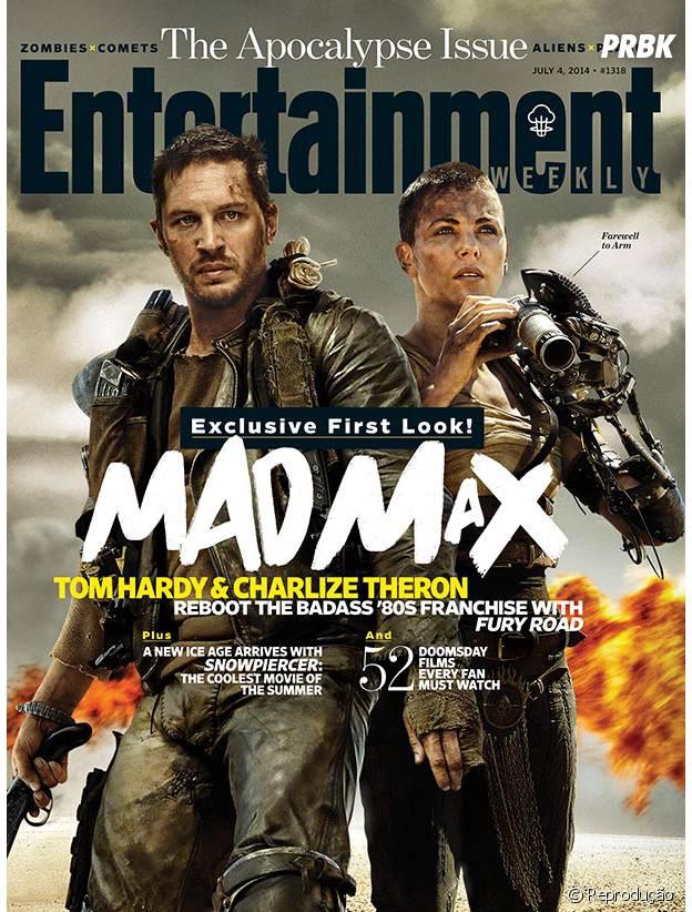 """Tom Hardy e Charlize Theron em primeira imagem de """"Mad Max"""""""