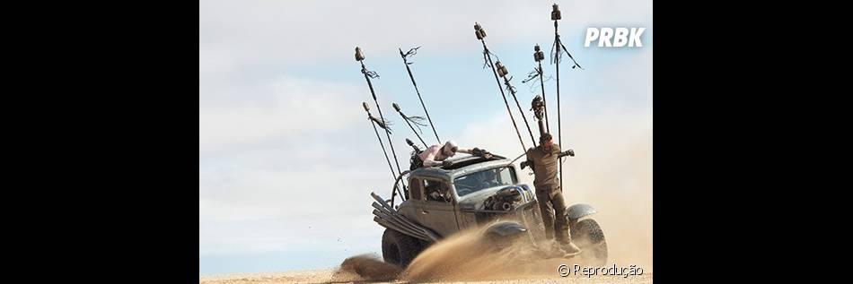 """""""Mad Max: Fury Road"""" é o quarto filme da série dirigida por George Miller"""