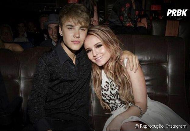 Larissa Manoela é muito fã do Justin Bieber e fala sobre sonho de parceria def6525fb9