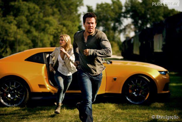 """Nicola Peltz e Mark Wahlberg estrelam """"Transformers 4 - A Era da Extinção"""""""