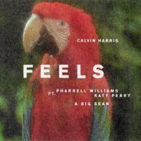 "Katy Perry, Pharrell Williams e Big Sean cantam juntos em ""Feels"", nova música de Calvin Harris!"