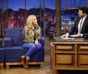 "Larissa Manoela fala sobre namoro no ""The Noite com Danilo Gentili'"