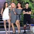 Maisa Silva, Priscilla Alcântara, Fernanda Souza e Yudi Tamashiro são um quarteto de sucesso!