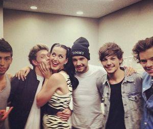 Katy Perry sempre demonstrou ter um carinho enorme pelos meninos do One Direction <3