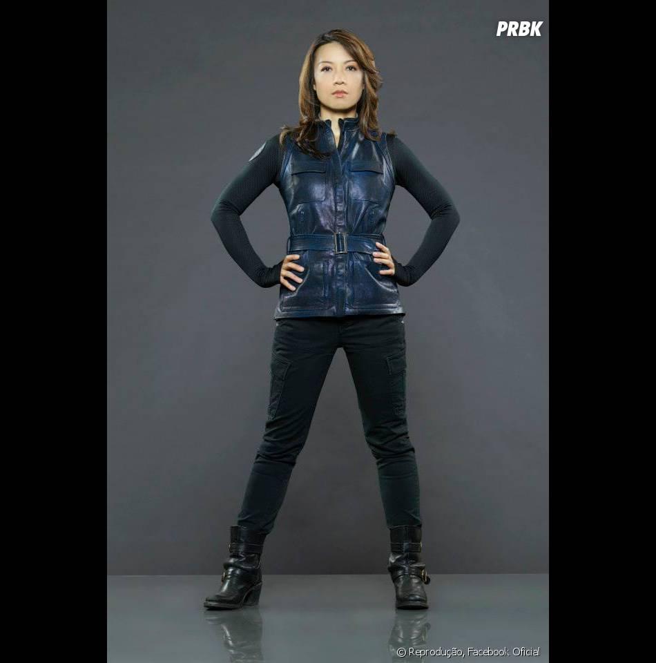 Ming-Na Wen é a lutadora multiuso Melinda May.
