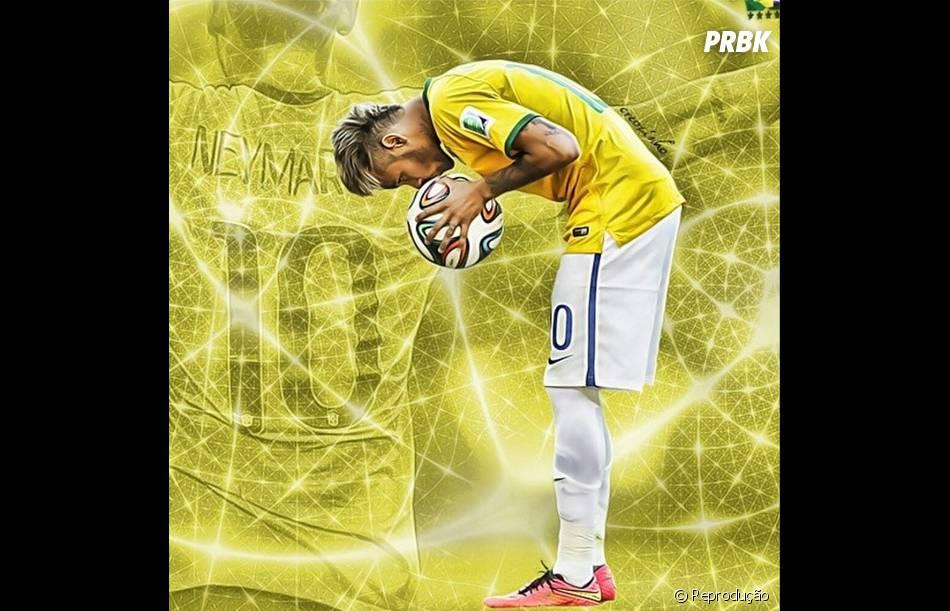 David Luiz faz homenagem a Neymar no Instagram