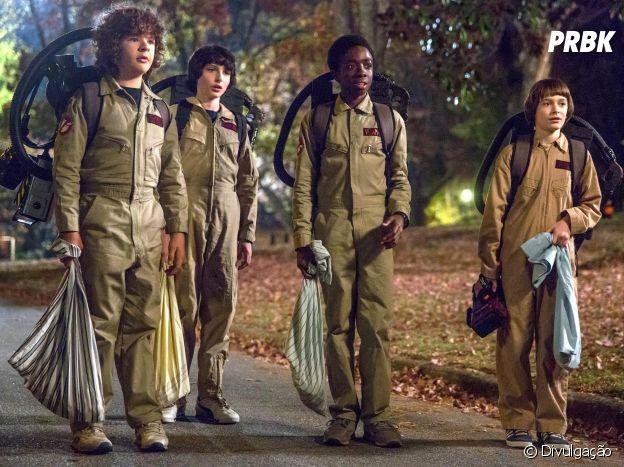 """Em """"Stranger Things"""", os meninos vão aparecer vestidos de """"Os Caça Fantasmas"""" no primeiro episódio"""