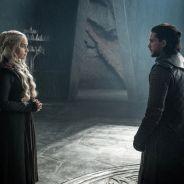 """Em """"Game of Thrones"""": na 7ª temporada, Jon Snow e Daenerys se encontram e mais detalhes do episódio!"""