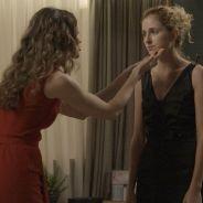 """Novela """"A Força do Querer"""": Ivana (Carol Duarte) aparece de cabelo curto e barba e Joyce surta!"""