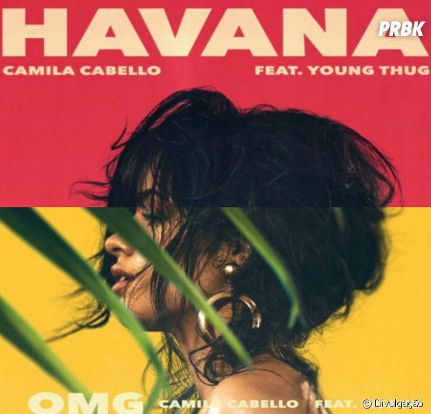 "Camila Cabello lança ""OMG"" e ""Havana"""