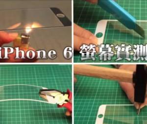 A possível nova tela do iPhone 6 só não resistiu ao peso de um carro