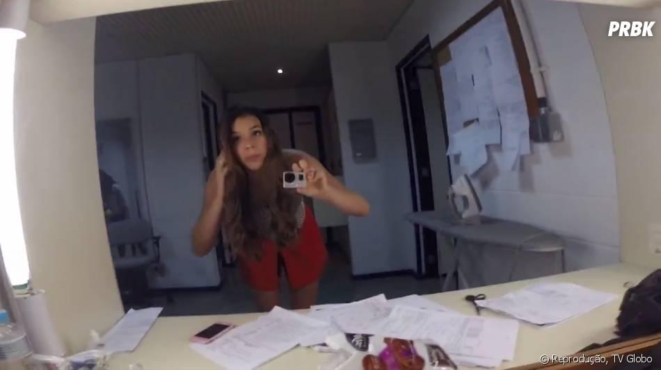 A última cena que Bruna Marquezine grava é só às 19h15