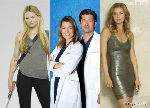 """A ABC revela as datas de retorno de """"Once Upon a Time"""", """"Revenge"""" e """"Grey's Anatomy""""!"""