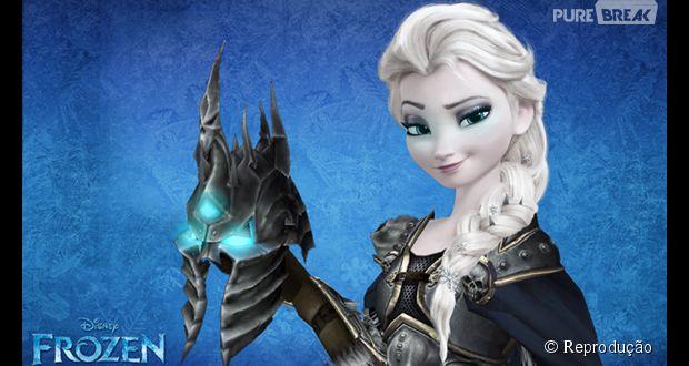 """Várias paródias de videogames inspiradas no animação de grande bilheteria da Disney, """"Frozen"""""""