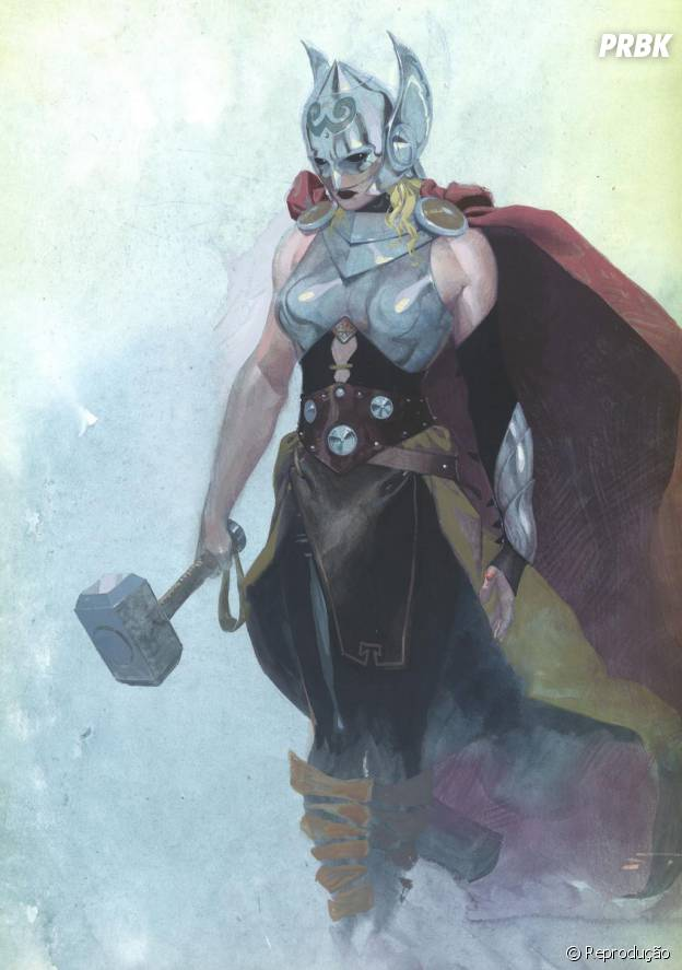 Marvel anuncia que Thor vai virar mulher