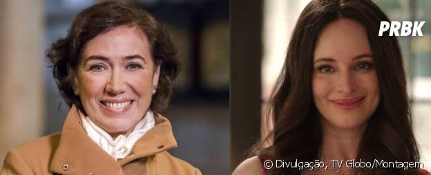 """Em """"Império"""", a Maria Marta (Lília Cabral) quer aterrorizar a vida do marido, assim como a Victoria (Madeleine Stowe) fazia em """"Revenge"""""""