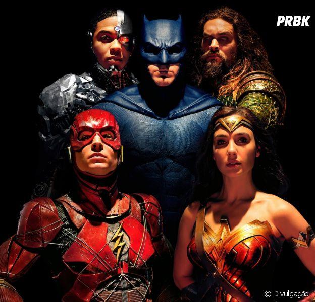"""Filme """"Liga da Justiça"""" ganha nova foto: revista Empire traz os heróis reunidos na capa"""