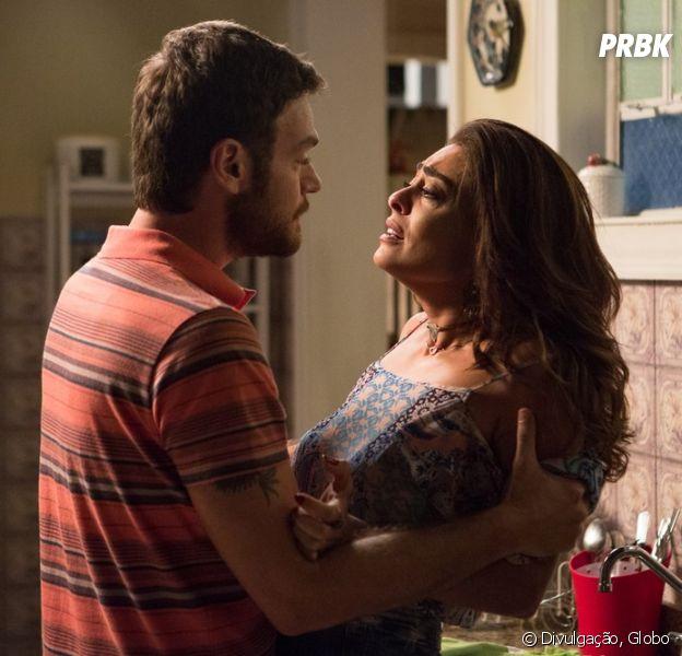 """Em """"A Força do Querer"""", Bibi (Juliana Paes) vai atirar em Rubinho (Emilio Dantas)!"""