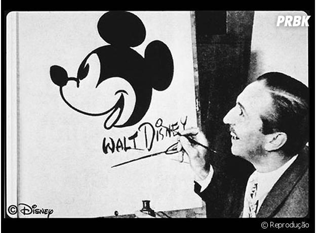 Walt Disney não é o criador do Mikey!