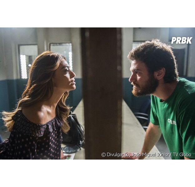"""Final """"A Força do Querer"""": Bibi (Juliana Paes) revela toda verdade a Rubinho (Emilio Dantas)"""