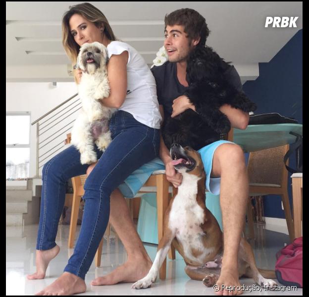 Fofos! Rafael Vitti e Tatá Werneck fazem live no Instagram e fãs piram
