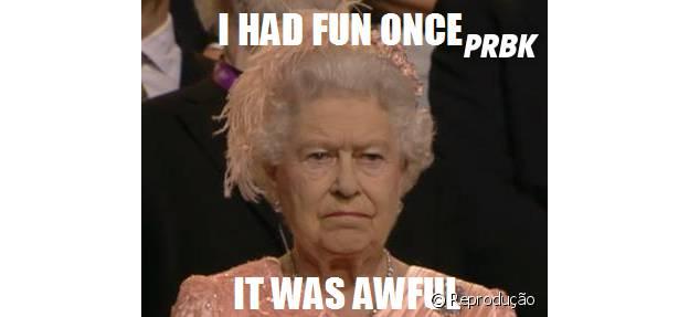 Rainha Elizabeth II é criadora de memes