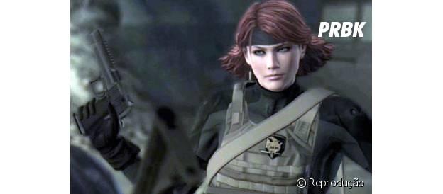 """Maryl é a ruiva que faz sucesso em """"Metal Gear Solid"""""""