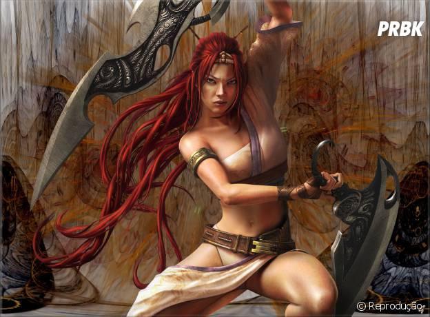 """""""Heavenly Sword"""" traz Nariko e seus cabelos selvagens e esvoaçantes"""