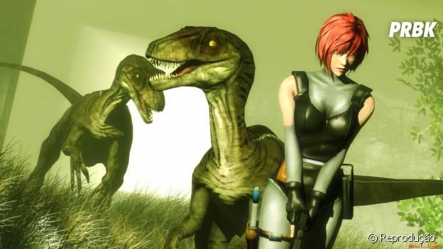 """A agente secreta do governo do game """"Dino Crises"""" é a combinação perfeita para ser sexy"""