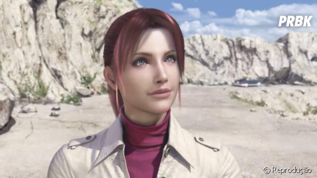 """Claire e sua fofura em """"Resident Evil"""""""