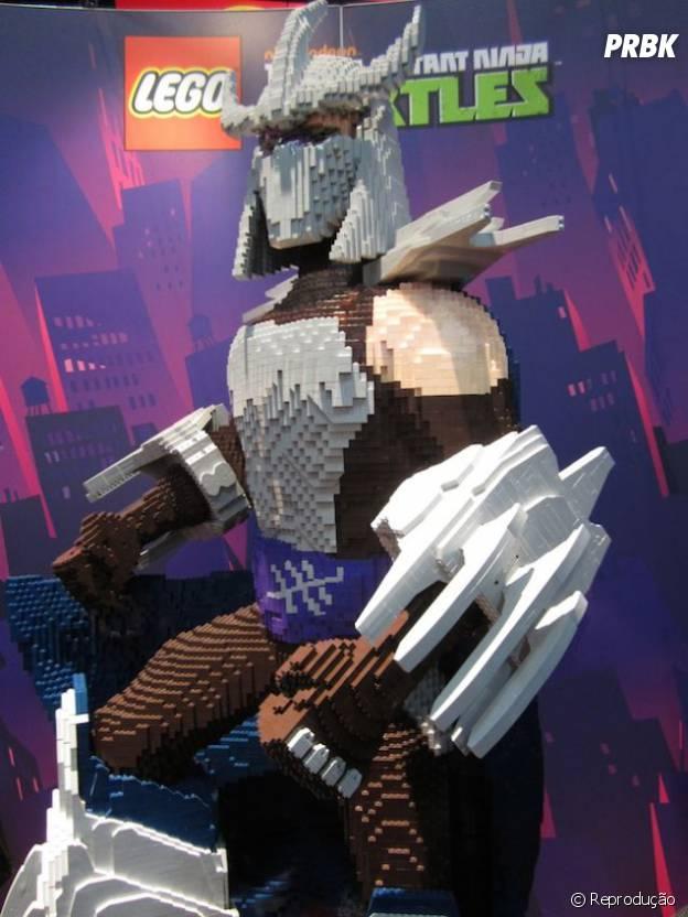 """O vilão Destruidor de """"Tartarugas Ninja"""" em sua versão LEGO"""