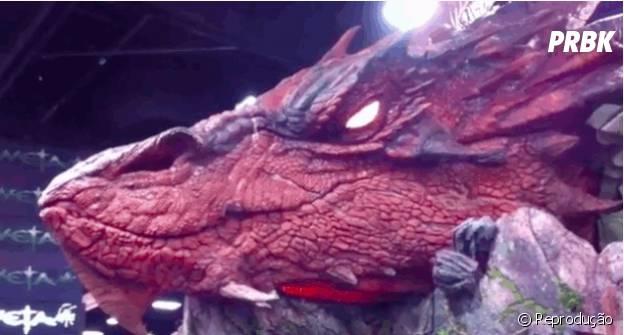 """A Comic-Con San Diego vai ter o dragão Smaug da saga de """"O Hobbit"""" vivinho da silva"""