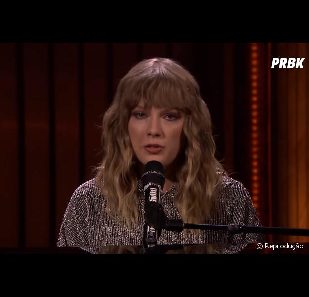 """Taylor Swift canta """"New Year's Day"""" no programa do Jimmy Fallon!"""