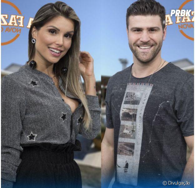 """De """"A Fazenda"""", fãs não gostam de roça com Flavia e Marcelo!"""
