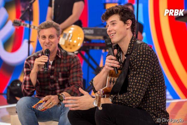 """Shawn Mendes participou do """"Caldeirão do Huck"""" em 2017"""