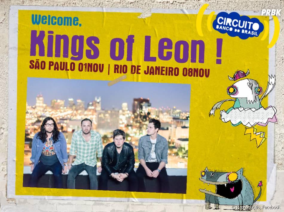 Circuito Banco Do Brasil : Circuito banco do brasil leva kings of leon para o rio de